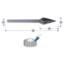 Φρεζάκι καρβιδίου 8 x 6 x 65 mm ''SKM'' S6