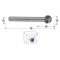 Φρεζάκι καρβιδίου 10 x 6 x 54 mm ''KUD'' S6