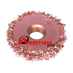 Τροχός μπρούτζινος 30 x 6 mm grit 46΄΄