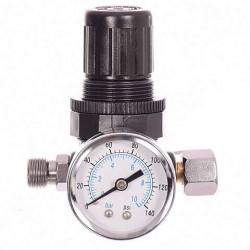 Ρυθμιστής πίεσης 1/4 αέρος 0 - 8 bar Auarita