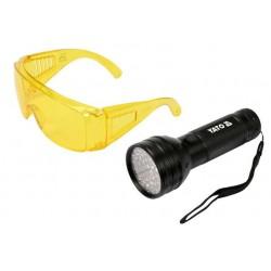 Φακός & γυαλιά U/V ανίχνευσης διαρροών
