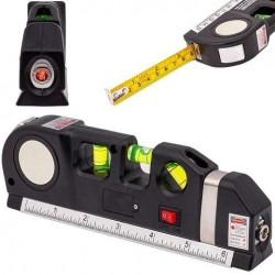 Αλφάδι laser με μαγνήτη - φως - μετροταινία
